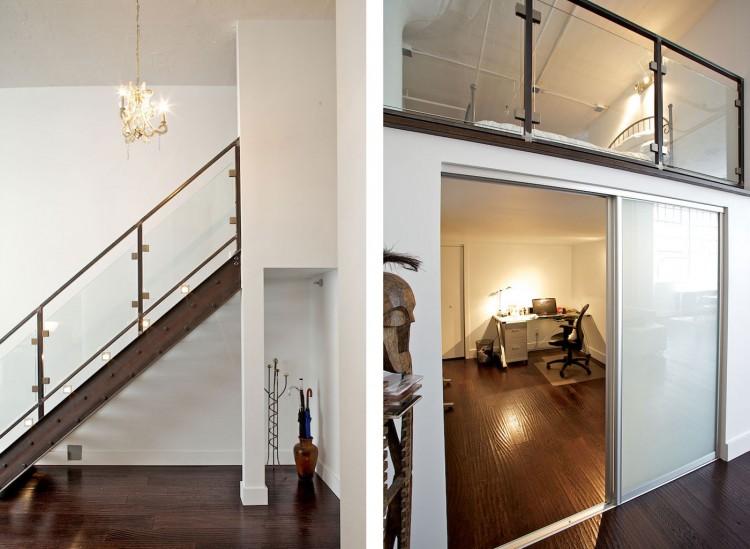 Wrigley building modern loft renovation in toronto - Loft industriel muratore construction design ...
