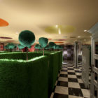 Restaurant Alice in Wonderland in Tokyo by Fantastic Design Works