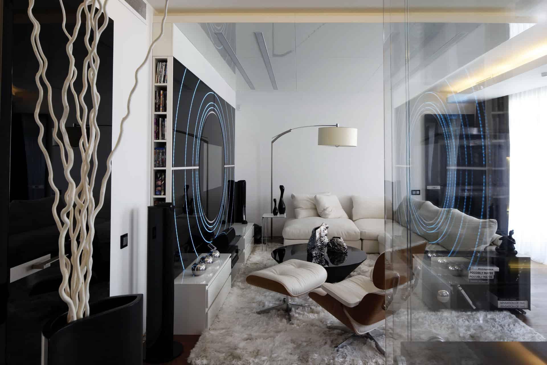 & Fantasy Island Apartment in Moscow by Gemotrix Design
