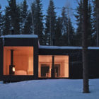 Four-cornered Cabin in Finland by Avanto Architects