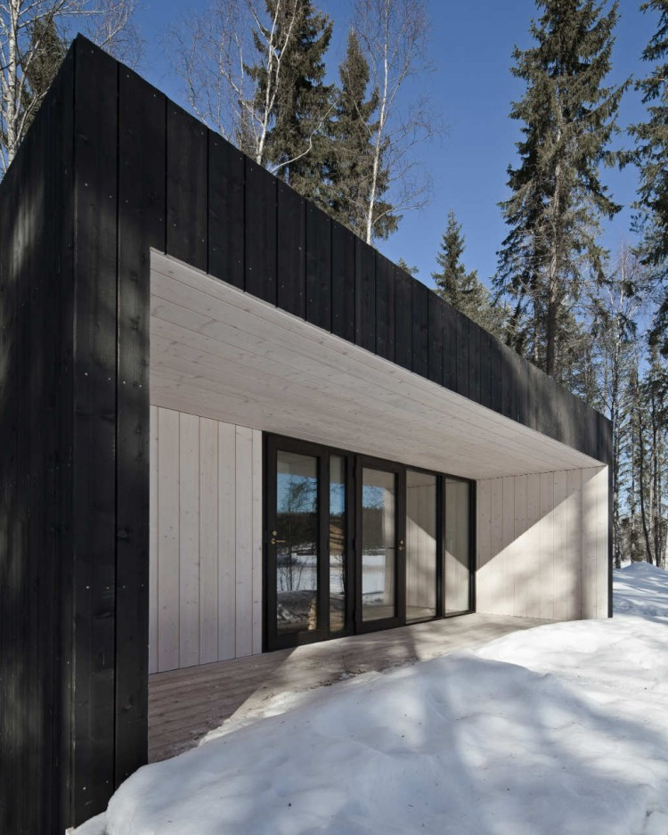 Finnish Design House: Four-cornered Cabin In Finland By Avanto Architects