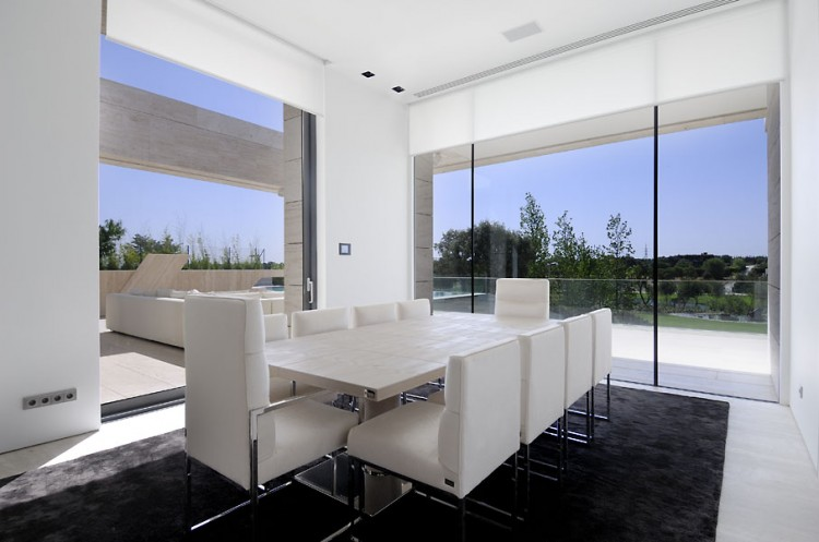 Contemporary Residence In Pozuelo De Alarcon By A Cero Architects