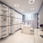 Amazing Surgery Clinic Interiors by Geometrix Design