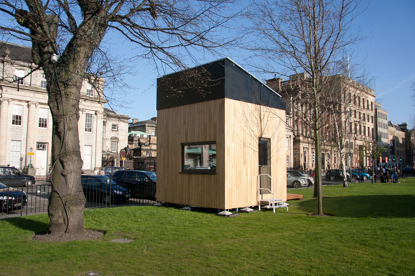 Would You live in a Cube? (Video)