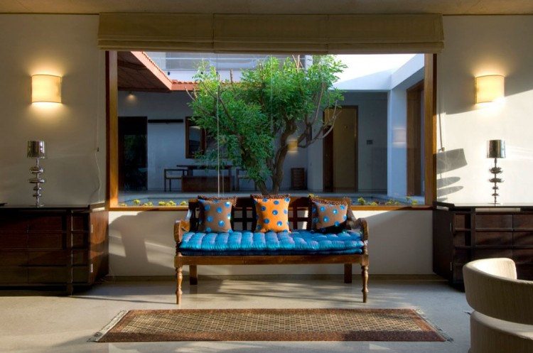 house interior design india.  Vastu Compliant House in Bangalore by Khosla Associates