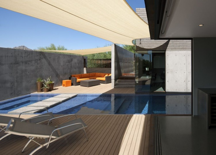 Contemporary residence in phoenix arizona by chen suchart - Residence contemporaine yerger en arizona ...