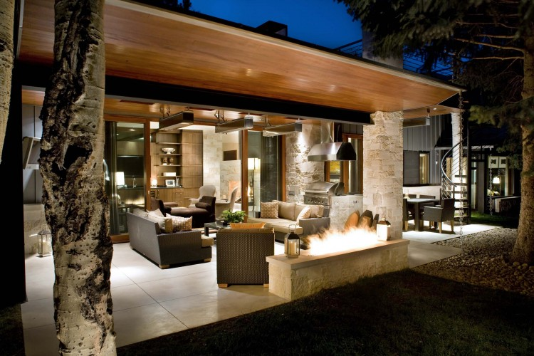 Mid-Century Ranch Renovation in Aspen by Rowland+Broughton ... on