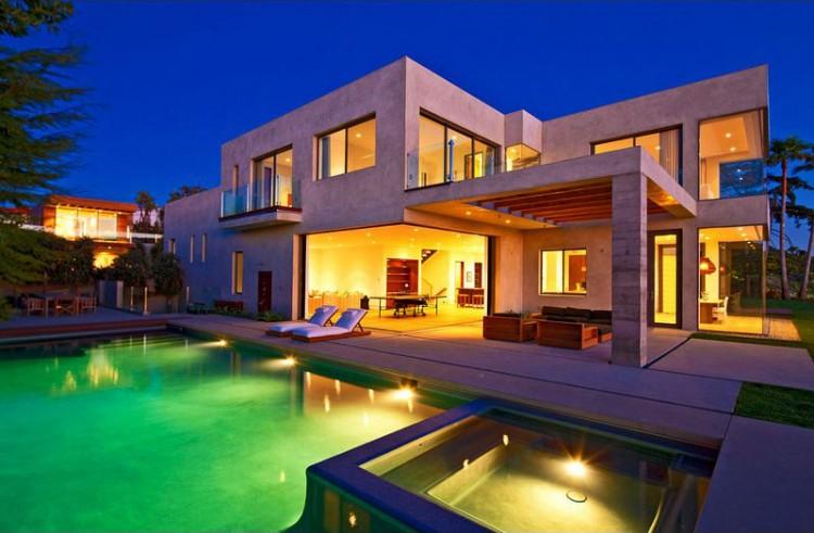 Brand new coastal modern residence in malibu for Modern malibu homes