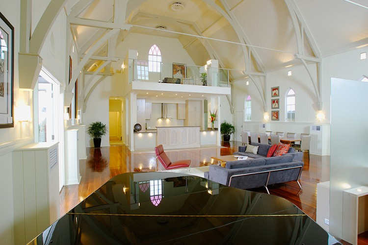 Beautiful Church Conversion in Brisbane by Willis Greenhalgh Architects