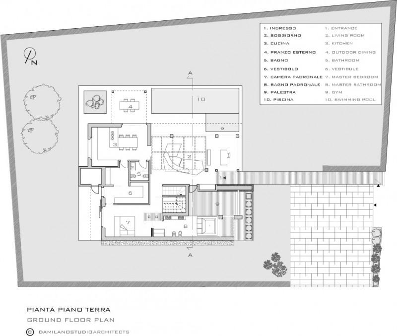 Maison de la lumière by damilano studio architects
