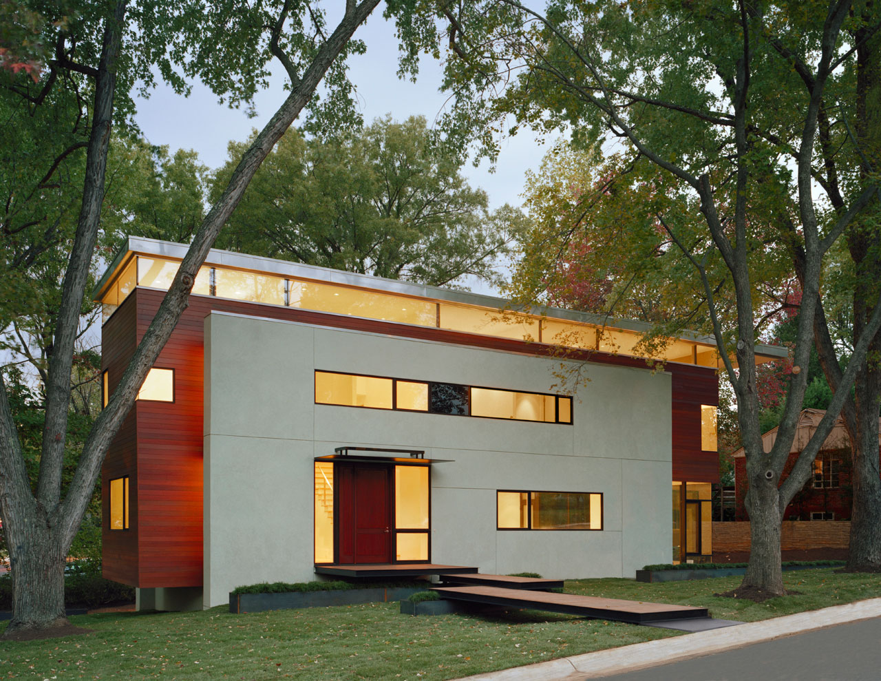 Matryoshka house by david jameson architect - The edgemoor residence by david jameson architect ...