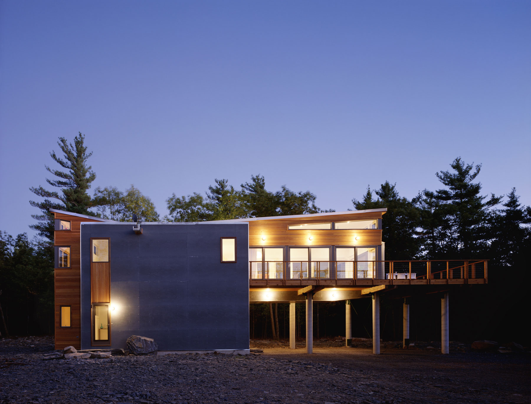 Prefab Mountain Retreat by Resolution: 4 Architecture