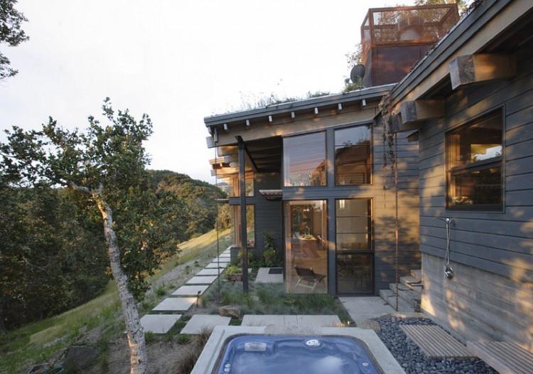 Sustainable House Ocho By Feldman Architecture