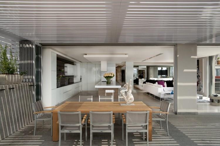 Luxury Triplex Penthouse in Johannesburg by SAOTA and OKHA Interiors