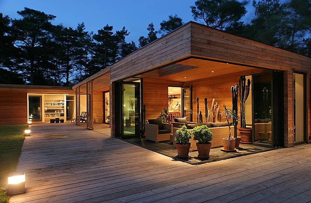 Beautiful Bergman Home Design Contemporary - Interior Design Ideas ...