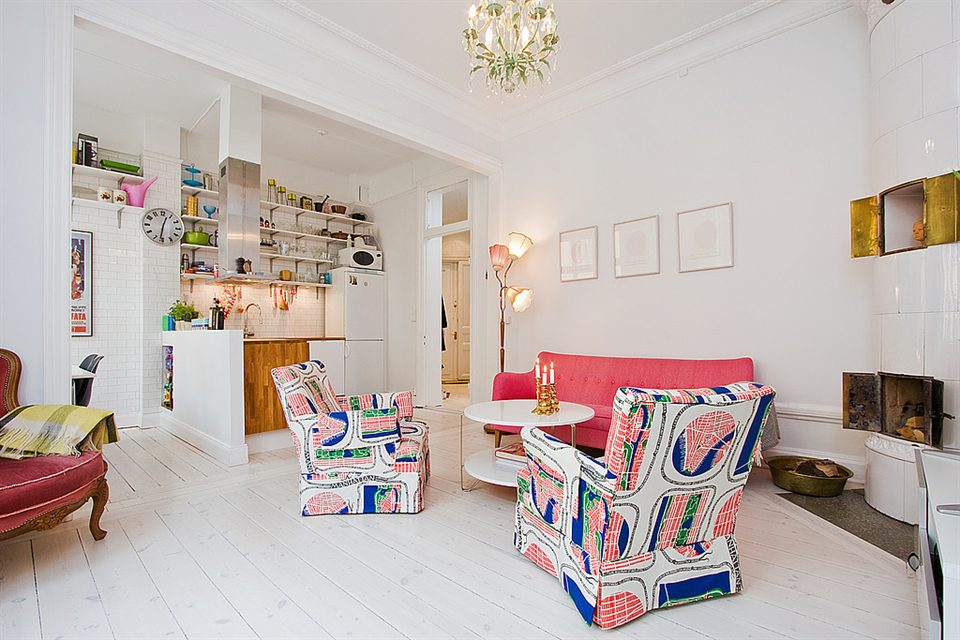 Scandinavian Design: Cozy, Bright Apartment in Stockholm