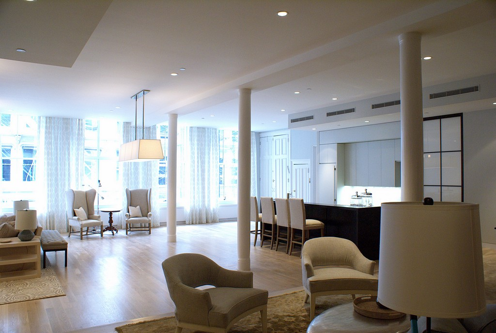 Soho Penthouse Triplex Loft By Paul Cha Architect