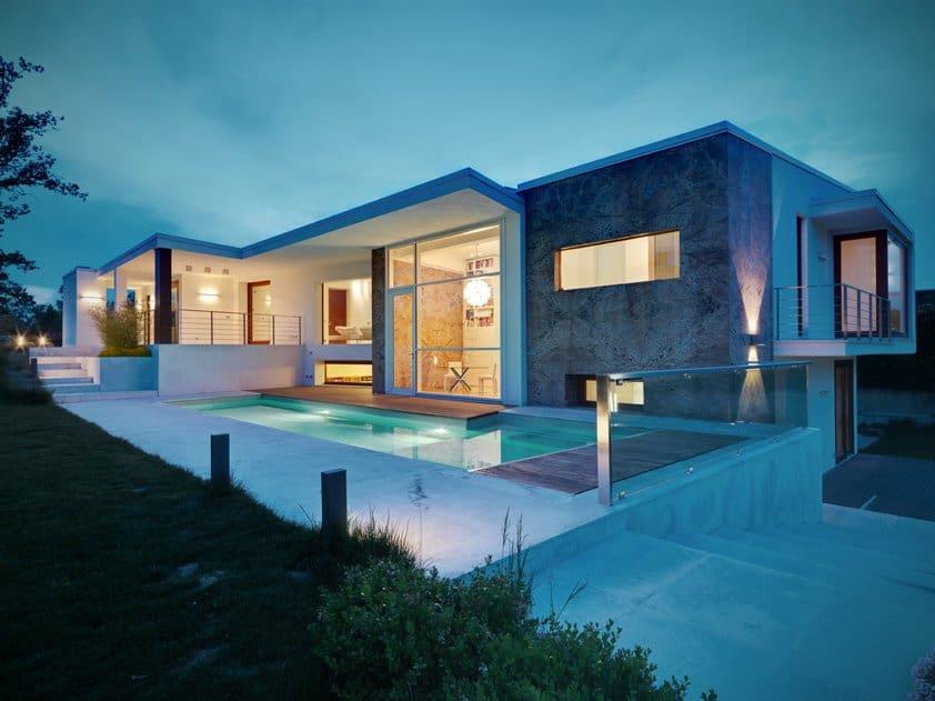 Casa d by damilano studio architects - Residence horizontal space damilano studio ...