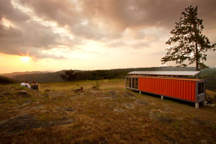 Containers of Hope, a ,000 Home by Benjamin Garcia Saxe