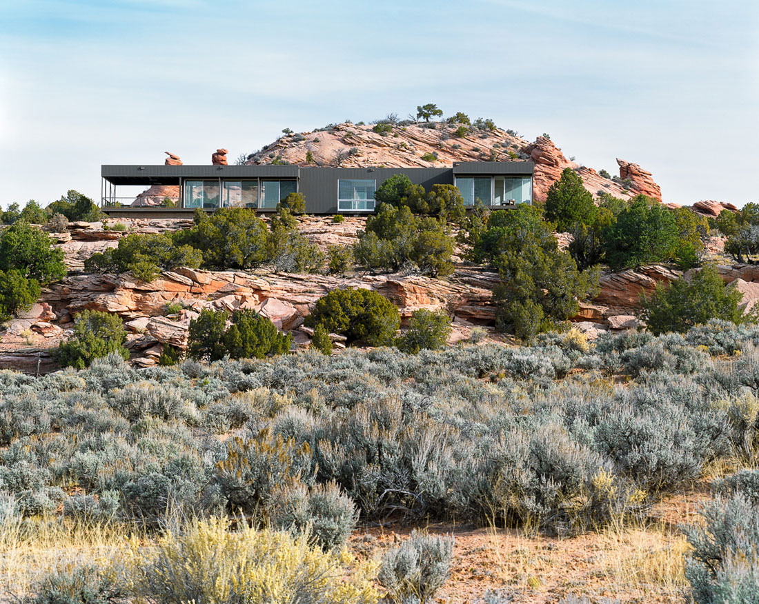 Hidden Valley Prefab in Moab by Marmol Radziner