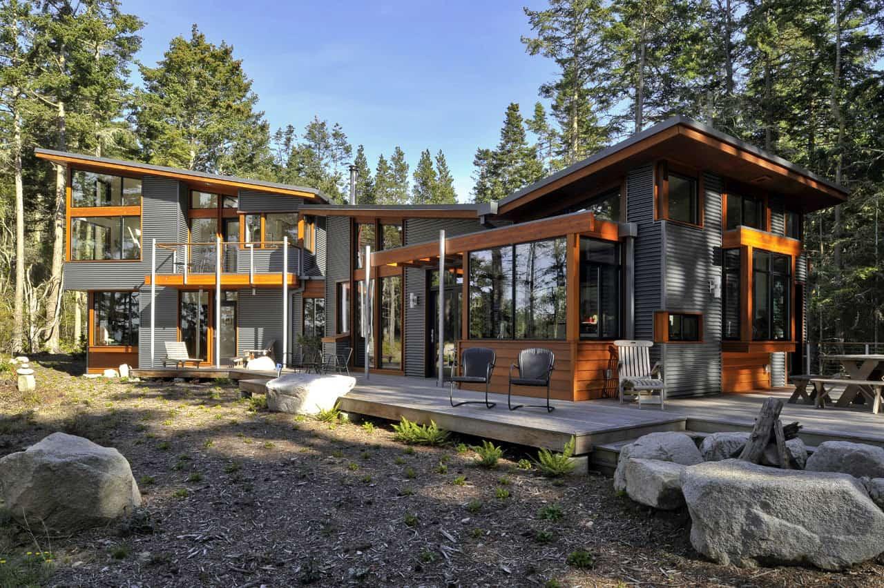 Lopez island residence by david vandervort architects