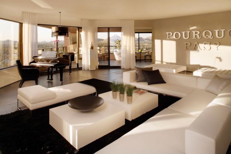 stunning penthouse apartment in phoenix