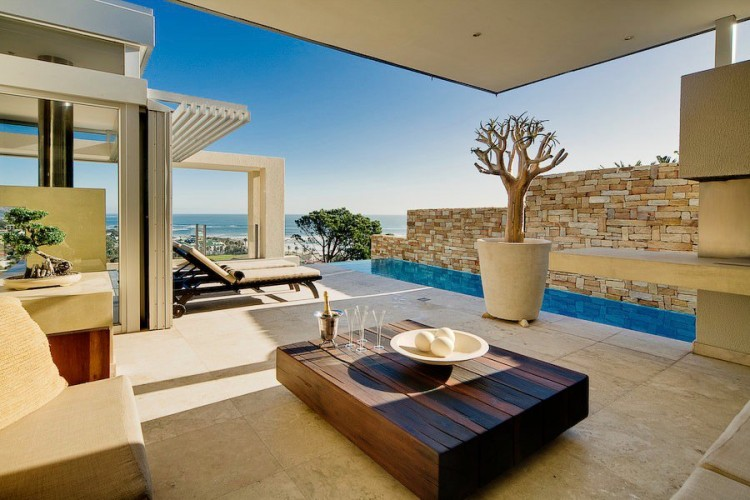 Villa azure in cape town for Koi pond builders cape town