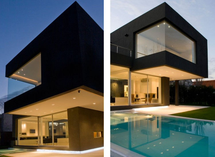 The Black House By Andres Remy Arquitectos - Orchid-house-by-andres-remy-arquitectos