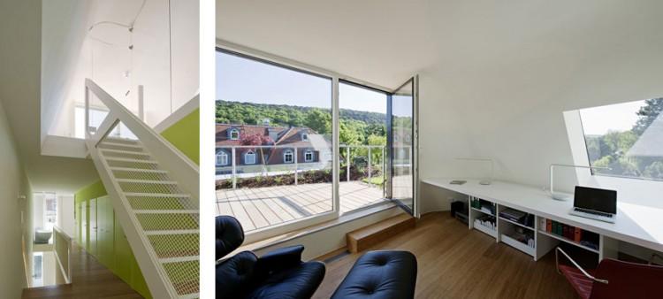 wohnzimmer house in vienna by caramel architekten
