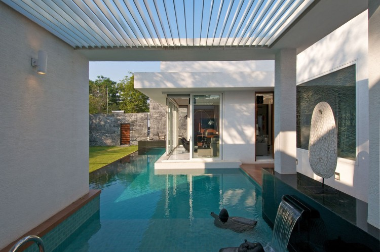 dinesh mills bungalow by atelier dnd - Interior Design Of Bungalow Houses