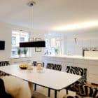 Contemporary White Duplex Apartment in Stockholm