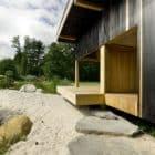 Black Teahouse in Česká Lípa by A1 Architects