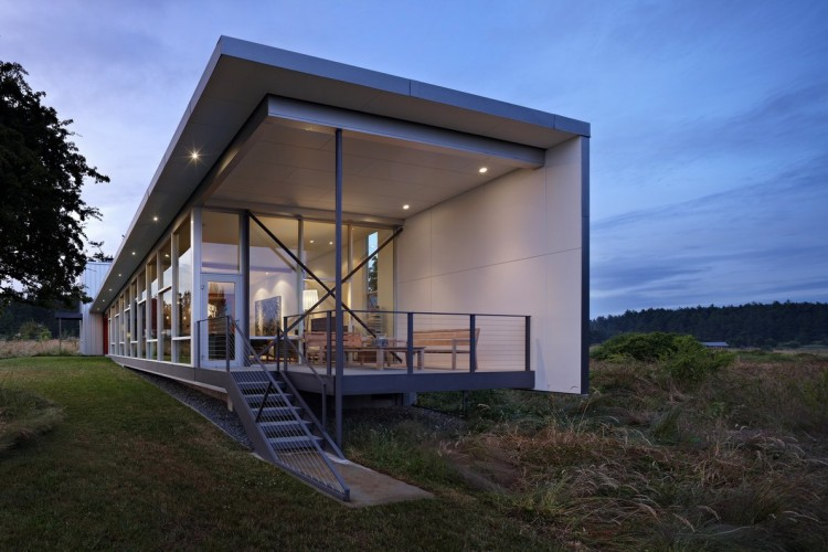 Roundy residence by miller hull partnership - Maison davis miller hull partnership ...