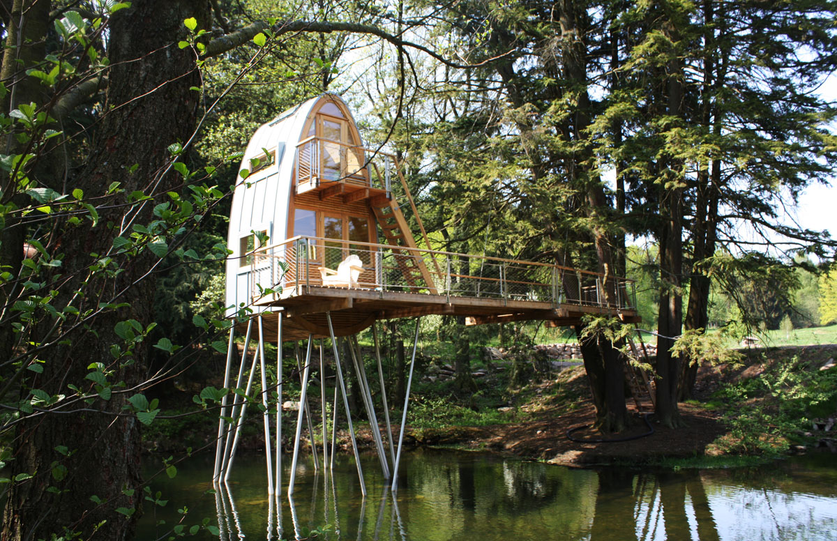 Treehouse Solling by Baumraum