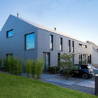 Two Row Houses in Goeblange by Metaform