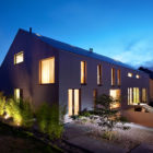 Two Row Houses in Goeblange by Metaform