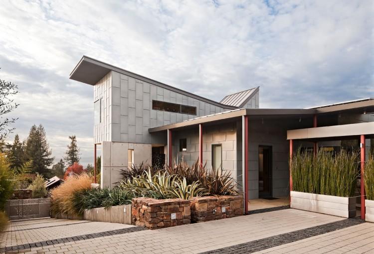Berkeley Courtyard House By Wa Design