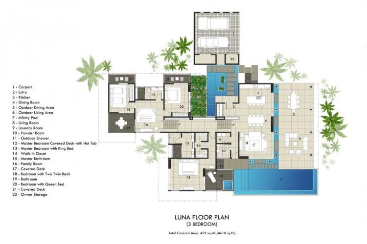 Villas Plans Designs