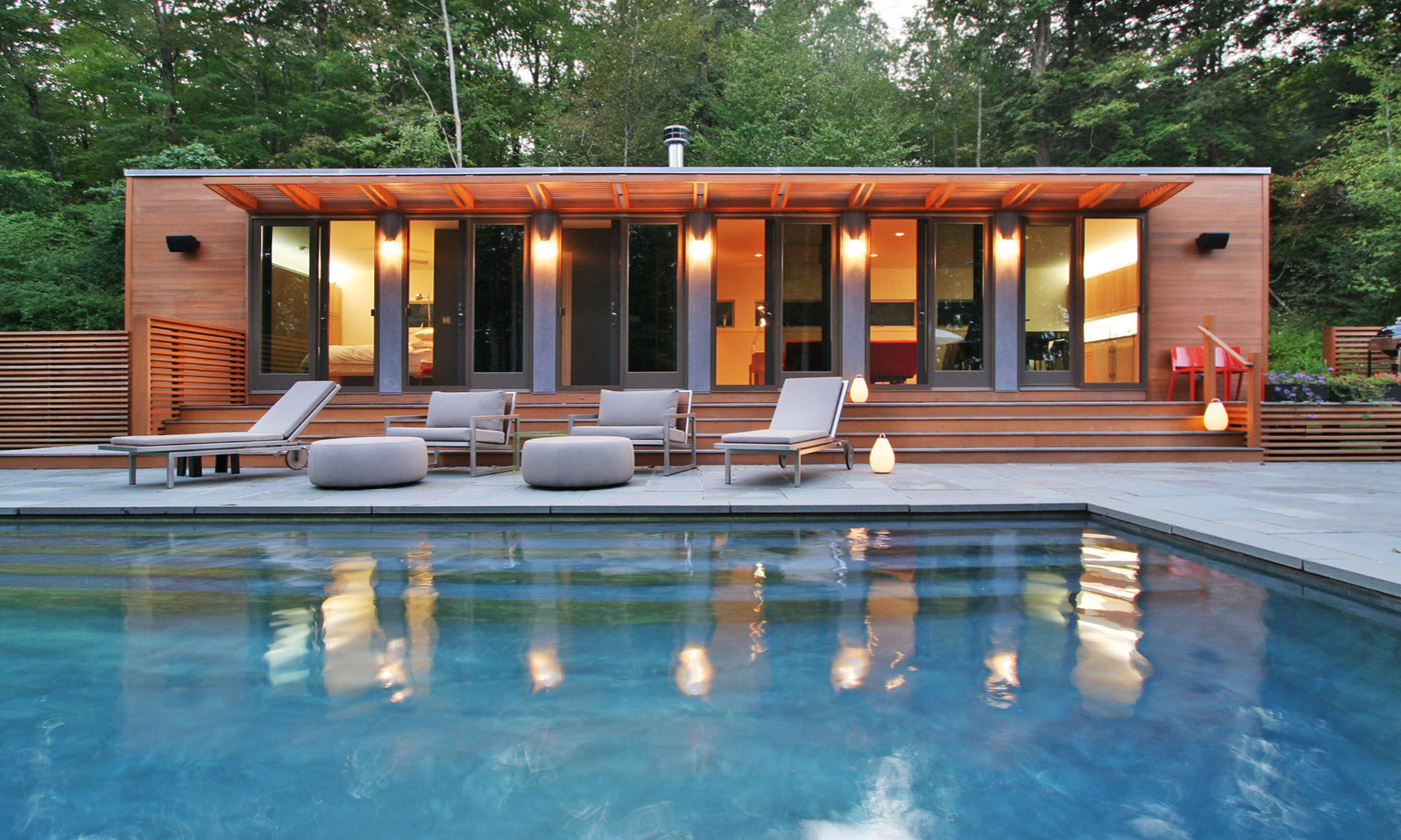 Connecticut Pool House By Resolution 4 Architecture