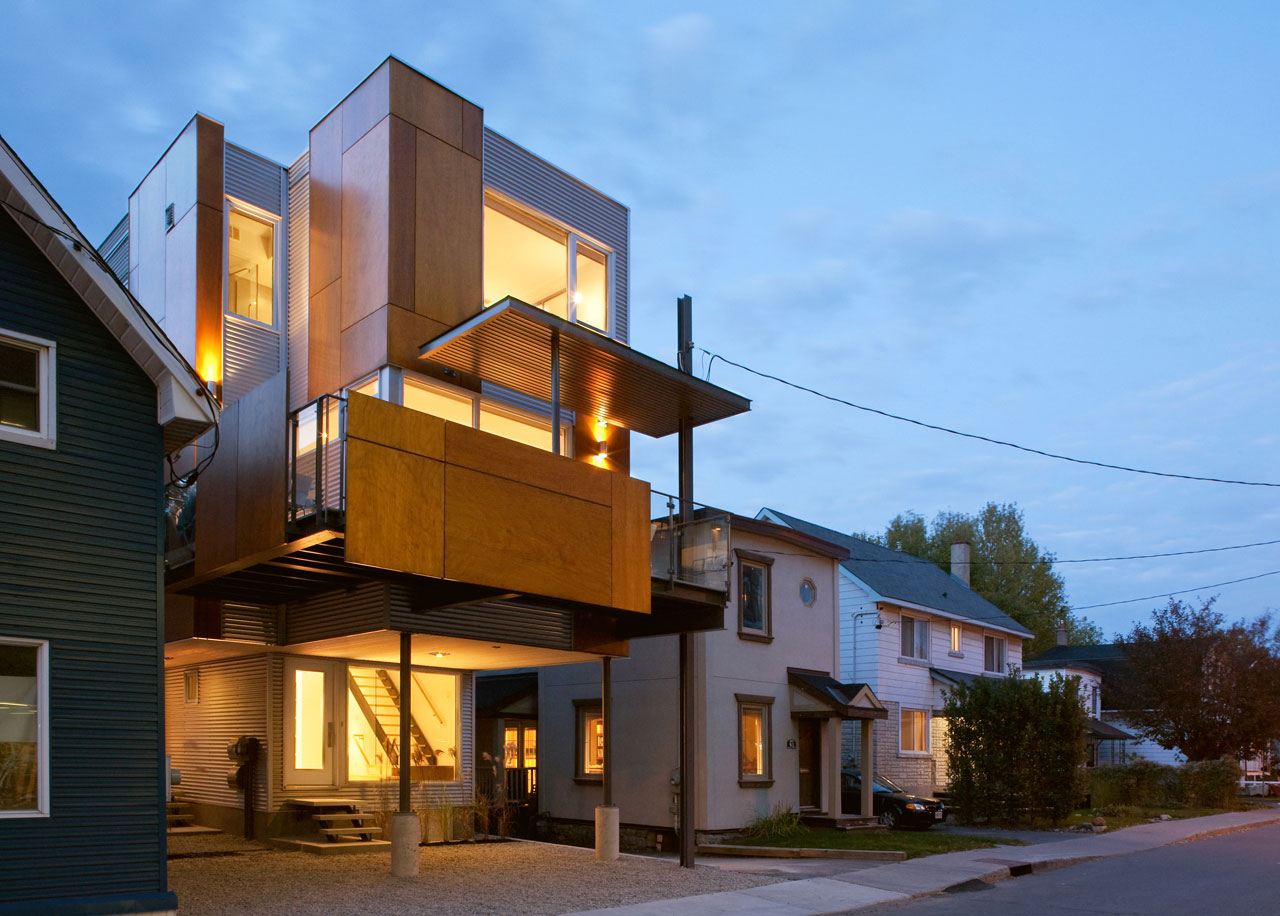 Front to Back Infill by Colizza Bruni Architecture