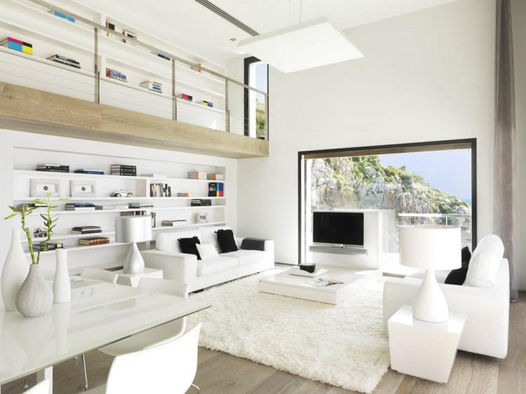 Pure White Interior by Susanna Cots