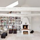 Bright Two Story Attic in Stockholm