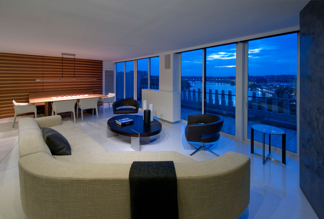 Hotel Furniture For Sale >> Watergate Apartment by Robert Gurney Architect