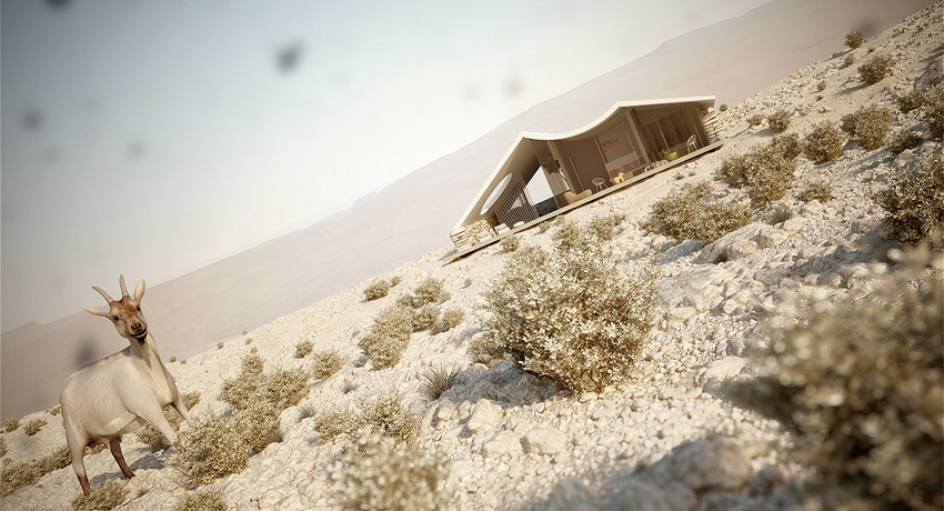 The Desert Villa by Studio Aiko
