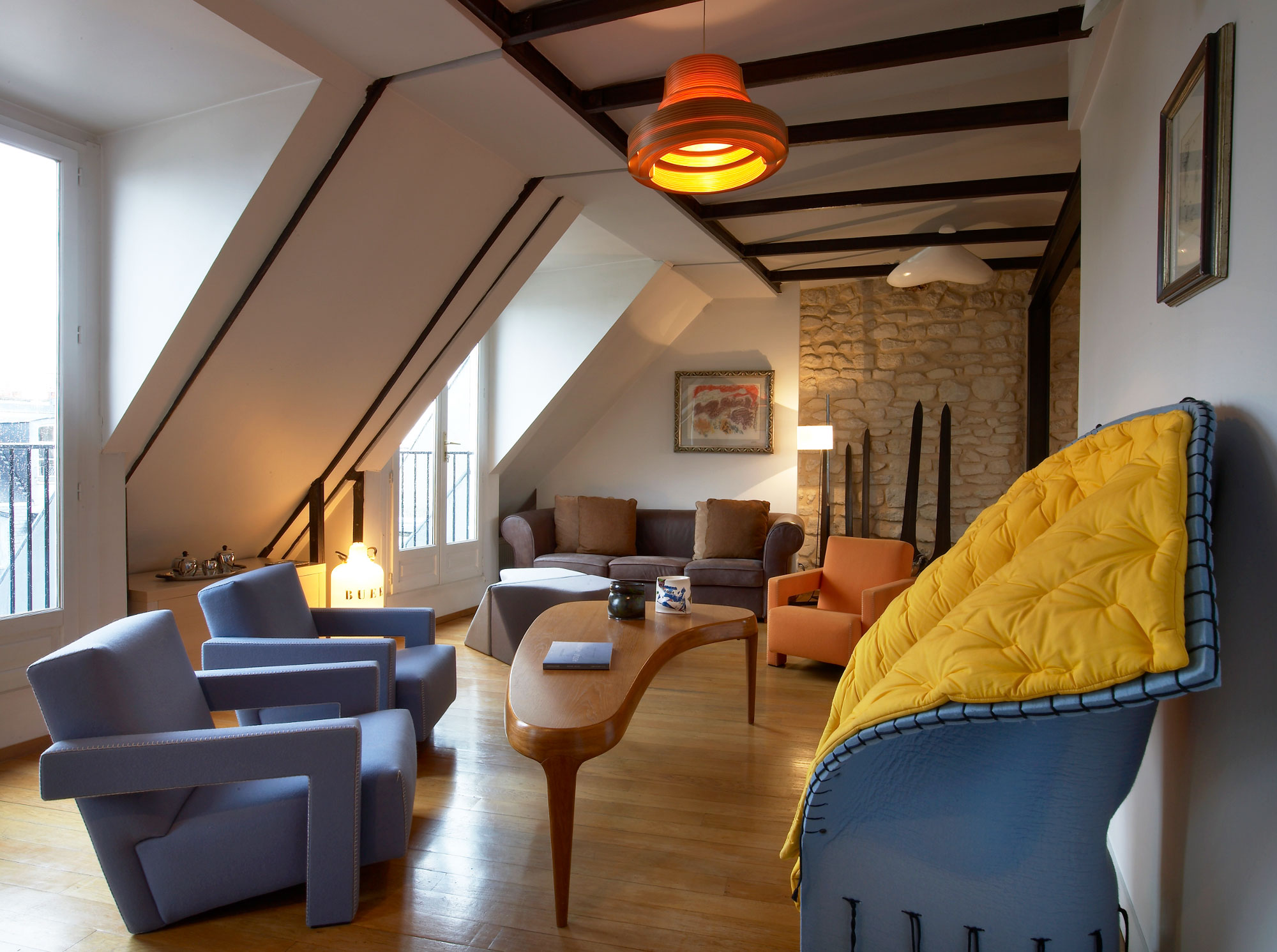 Apartment Renovation in Paris by VMCF Atelier