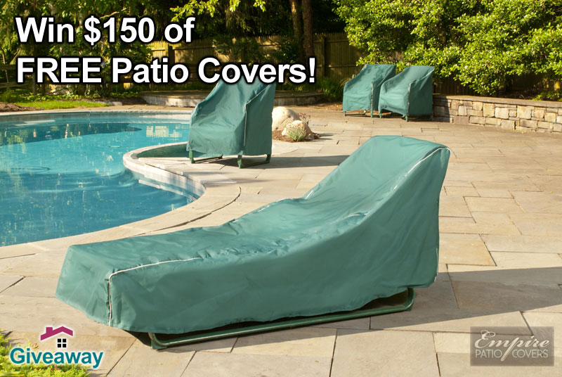 HomeDSGN Giveaway! $150 of FREE Patio Covers from Empire Patio Covers