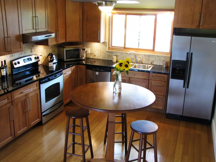 View in galleryBefore After  1963 Bi Level Remodeling in Boulder  Colorado. Kitchen Designs For Split Level Homes. Home Design Ideas