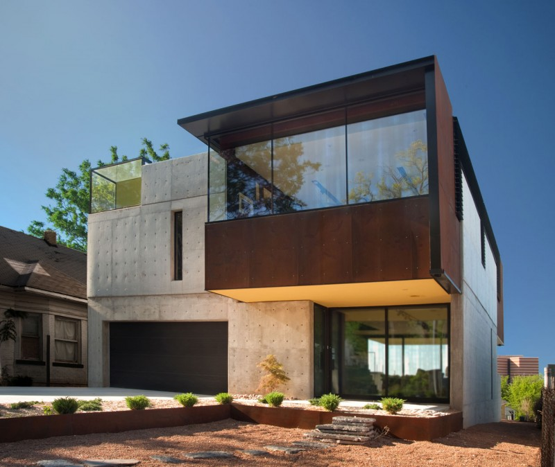Oklahoma case study house by fitzsimmons architects