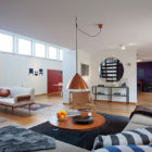 Bright Open-Plan Apartment in Stockolm