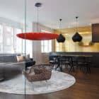 Beautiful Loft-Like Studio in Central Stockholm by Daniel Nyström